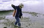 boy on beach in Thule