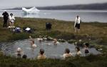 warme Quelle auf Grönland