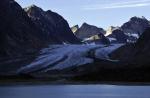 glacier in Prins Christian Sund 2010