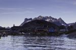 village Augpilagtoq in southern Greenland