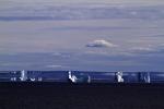 Luftspiegelung über Grönland