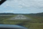 Landeanflug auf Gustavus airport