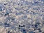 Wolken über Süddänemark