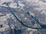 Nordostseekanal bei Rendsburg