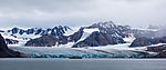 cruiseship befor glacier