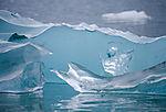 bizarre glacier ice