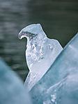Gletschereis Skulptur