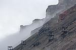 alter Kohlebergbau auf Spitzbergen