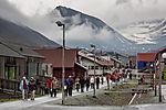 Touristen auf Spitzbergen