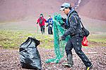 Müllsammeln auf Spitzbergen