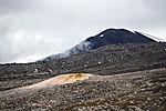 volcanoe Sverrefjellet on Svalbard