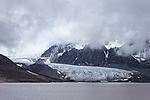 glacier Friedrichbreen on Svalbard