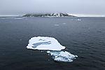 little drift ice in northern Svalbard