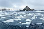 drift ice in northern Svalbard