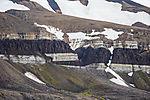 dolerite sill in LOmfjorden