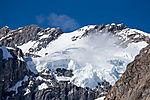 hängender Gletscher auf Spitzbergen