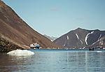 expedition ship Ocean Nova on Svalbard