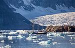 Berkantine Antigua auf Spitzbergen