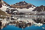 Bergspiegelung auf Spitzbergen