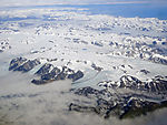 southern Spitzbergen from the air