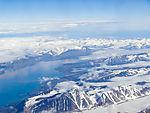 Van keulenfjorden und Doktorbreen