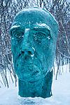 Amundsen-Büste in Tromsø