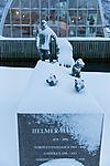 Denkmal für Polarforscher Helmer Hanssen