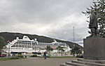 Kreuzfahrtschiff Ocean Princess in Tromsø