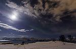 Nordlicht über Telegrafbukta in Tromsö