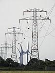 pylons and windmills