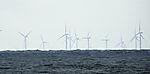 wind power near island Helgoland
