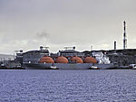 methane carrier in Hammerfest
