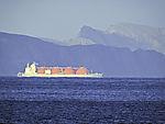 methane carrier near Hammerfest