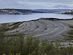 Strandterrassen am Porsangerfjord
