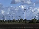 wind power under clouds
