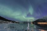 Nordlicht über Nordfjorden