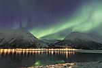 Nordlicht über Finndalen