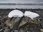 Winterküste in Tromsö