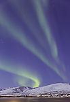 Nordlicht über Kvaløya