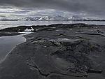 Felsenküste in Tromsö