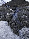Erosion im Sediment