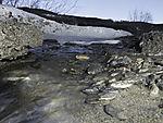 Schmelzwasser unter Eis