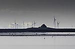 island Habel and windmills on mainland