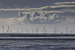 clouds over windmills