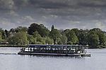 Solar boat Alstersonne in Hamburg