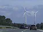 windmills at highway A1