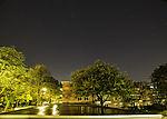 night sky over Hamburg