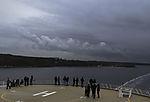 exhaust over power plant in Kiel