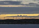 wind power on island Langeland