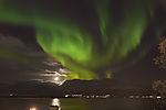 Weihnachtsnordlicht über Tromsö